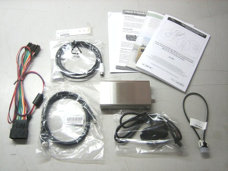 Audio Connectivity Kit For IPod USB Camera Jaguar