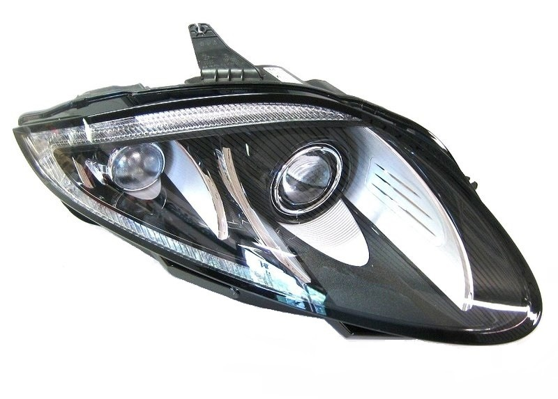 xenon scheinwerfer facelift jaguar. Black Bedroom Furniture Sets. Home Design Ideas