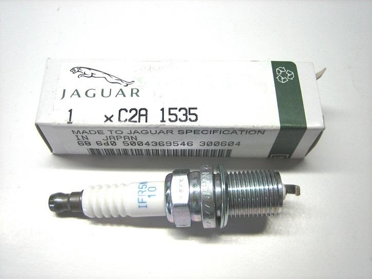 Spark plug set 4.2l V8 - Jaguar-Shop.com